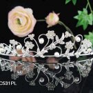 Bridal headband veil,bridal hair accessories,wedding rhinestone bridal tiara 531PL