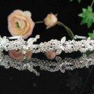 Bridal tiara headband veil,wedding headpiece accessories tiara 1080