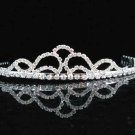 Bridal silver imperial veil,wedding headpiece accessories tiara band regal 2510 ***FREE SHIPPING