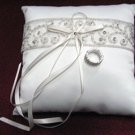 handmade ivory satinbridal ring pillow ribbon veil,bridesmaid wedding accessories r989i