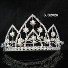 HUGE handmade pearl crown silver bridal comb,wedding tiara bride hair accessories 2028