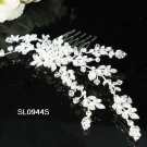 Handmade pearl floral silver alloy bridal comb,wedding bridesmaid hair accessories tiara SL944s