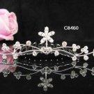 Silver bridal crystal comb,bridesmaid hair accesssories,wedding tiara regal 8460**FREE SHIPPING