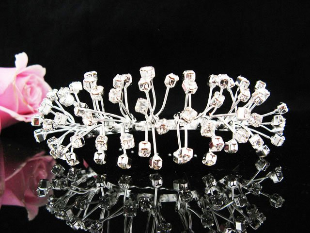 Floral Leaf Hair Comb, Wedding Comb Jewelry, Wedding Comb, Bridal Comb Sparkle Beauty  8556