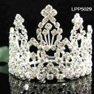 Handmade Silver bridal tiara small crown,wedding hair accessories,delicate regal 5029