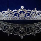 CRYSTAL handmade wedding accessories silver rhinestone sparkle SWAROVSKI bridal tiara 4096