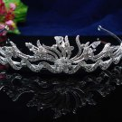 wedding tiara,bride hair accessories rhinestone alloy silver sparkle bridal tiara headpiece 1260