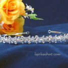 Crystal Bride wedding hair accessories,Bridesmaid alloy floral rhinestone headband,bridal tiara 764