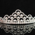 Elegant Pageant Bridal Wedding Princess Rhinestone Radiant Bride Tiara Headband a198