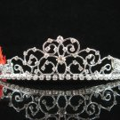 Tiara Bridal Comb,Bride Crystal Filigree Hair Comb Tiara style, Wedding hair Comb 176s