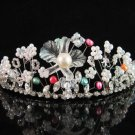 Bridesmaid tiara crystal pearl bridesmaid wedding accessories color rhinestone headpiece 2200