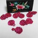 10 pair Handmade chinese frog fasten closure button garment accessories fancy knob cf03p