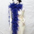"48g 70"" purple chandelle feather boa for dancer , decoration ,party, wedding F50dpu"