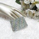 Sparkling Stretch Rhinestone Prom Wedding Pageant Bridal Bracelet,Woman jewelry accessories JT3