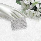 Sparkling Stretch Rhinestone Prom Wedding Pageant Bridal Bracelet woman accessories JT8