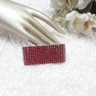 Woman accessories ,Sparkling Stretch Rhinestone Pattern Wedding Pageant Bridal Bracelet  JT18r