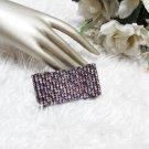 Woman accessories ,Sparkling Stretch Rhinestone Pattern Wedding Pageant Bridal Bracelet  JT19