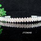 Bride, Wedding Tiara Crystals and Rhinestones Headband Regal Crown jt42
