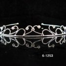 Bride, Wedding Tiara Swarovski Crystals and Rhinestones Headband Regal Crown 1253
