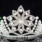 Bride, bridesmaid Wedding Tiara Swarovski Crystals and Rhinestones Regal Crown 1685