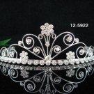 Bride, bridesmaid Headband Wedding Tiara Crystal Pearl Rhinestones Regal 5922