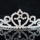 Bride, bridesmaid Wedding Tiara Swarovski Crystals and Rhinestones Regal Crown 8216