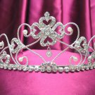 Bride, bridesmaid Headband Wedding Tiara sweetheart Crystal Rhinestones Regal 537