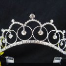Bride, bridesmaid Headband Wedding Tiara sweetheart Crystal Rhinestones Regal 2015