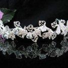 Bride, bridesmaid Headband Wedding Tiara Serpent Swarovski Crystal Rhinestones Regal 2007