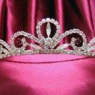 Bride, bridesmaid Regal Swarovski Wedding Tiara Crystal Rhinestones Regal 63s