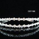 Bride, bridesmaid Radiant Regal Wedding Tiara Crystal Rhinestones Headband 1186