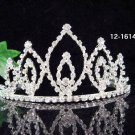 Bridal Headpiece,Bridesmaid Wedding Tiara,Sweetheart Huge Bridal Tiara 1614