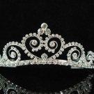Silver sweetheart Bride Bridal tiara ,Bridesmaid Wedding Tiara,Bridal Tiara 2246