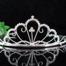 Silver Bride Bridal tiara ,Bridesmaid Wedding Tiara,Bridal Tiara 3658