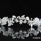 Bridal Wedding Tiara,Elegant Silver Crystal Bride Headpiece ,Bridal tiara 274