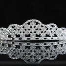 Bridal Wedding Tiara,Elegant Silver Crystal Vintage Bride Headpiece ,Bridal tiara 296