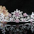 Sparkle Wedding Tiara,Elegant Princess Silver Swarovski Bride Bridal tiara 494