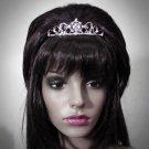 Bridal Tiara;Princess Silver Rhinestone Wedding Headband Comb 1158
