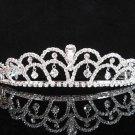Elegance Silver Crystal Wedding Headpiece,Dangle Bridal Tiara,Comb 69
