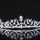 Silver Alloy Wedding Headpiece,Gorgeous Bridal Tiara,Floral Crown 1310