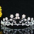 Silver Alloy Wedding Headpiece,Gorgeous Bridal Tiara,Floral Crown 1331