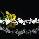 Silver Alloy Wedding Headpiece,Gorgeous Bridal Tiara,Floral Pearl Crown 2088