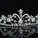 Alloy Crystal Wedding Headpiece;elegance Silver Bridal Tiara 5969