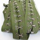 Hook and Eye Metal Buckle Tape 36 inch;Garment Accessories;Sewing Notion Tool Trim #HIgr