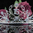 Sweet 15 Crystal Princess Happy Birthday Tiara;Silver Crown Regal #12