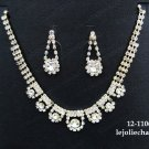 Fashion jewelry necklace set;Bridal Necklace Set;Elegance Clip Earring set#1106