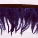 Handmade Turkey feather fringe; fluffy purple marabou Feather boa #Ff24