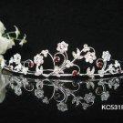 Sparkle Beautiful Silver Wedding Tiara;Elegance Crystal Rhinestone Bridal Tiara ; Bride Regal#531