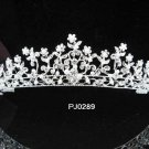 Silver Wedding Tiara;Sparkle Beautiful Elegance Crystal Rhinestone Bridal Tiara ; Bride Regal##289