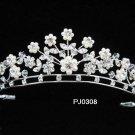 Silver Wedding Tiara;Sparkle Beautiful Elegance Crystal Rhinestone Bridal Tiara ; Bride Regal##308